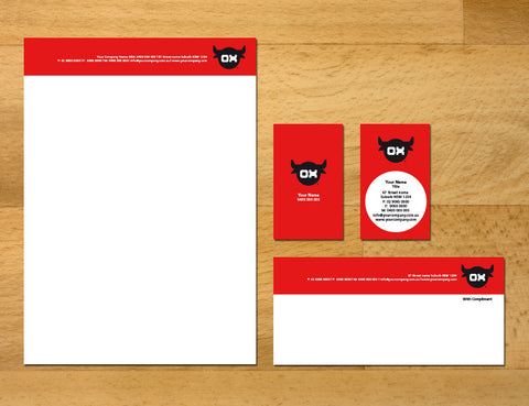 Image of stationery design S100251