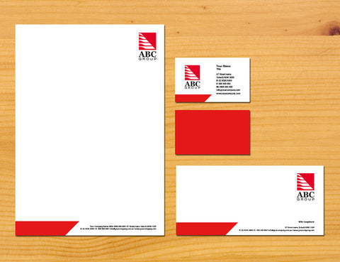 Image of stationery design S100252