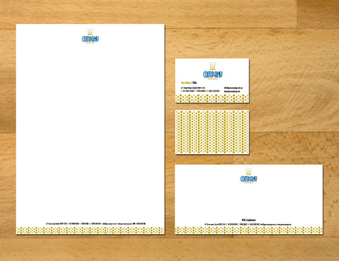 Image of stationery design S100255