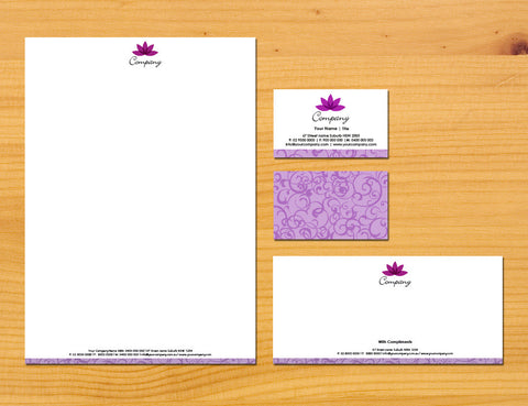 Image of stationery design S100258