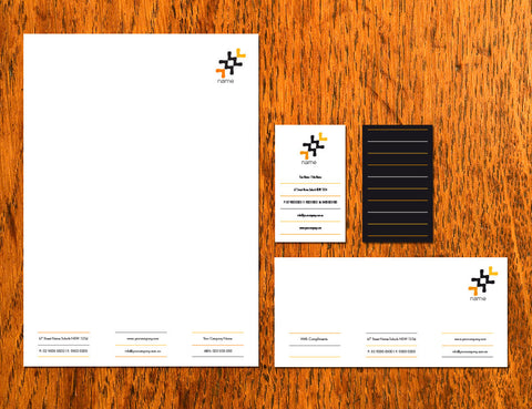Image of stationery design S100259