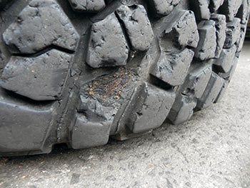 Kimberley roads are rough on rubber.