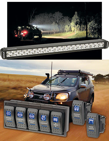 Narva led driving light bars 4wd touring australia narvas range of led driving bars are engineered for australias toughest offroad conditions providing a brilliant white light from high powered aloadofball Choice Image