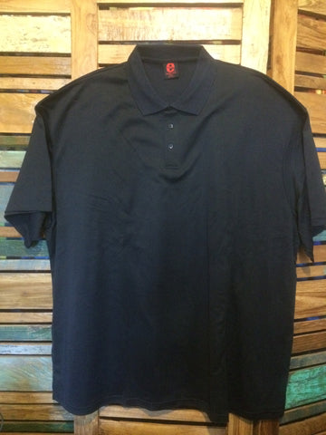 Big Mens Cool Dry Cotton Back Polo - Navy
