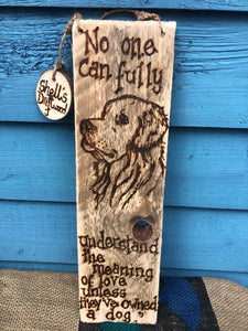 DOG WALL HANGING