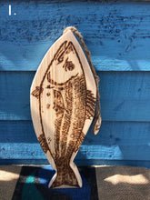 Load image into Gallery viewer, HANDMADE WOODEN FISH