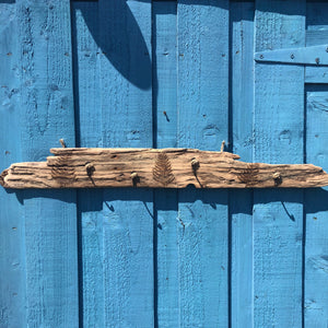 FERN DRIFTWOOD KEY HOLDER