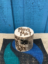 Load image into Gallery viewer, PERSONALISED DRIFTWOOD RING BOX