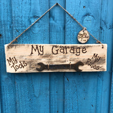 Load image into Gallery viewer, A SELECTION OF VINTAGE TOOL WALL HANGINGS| MADE ESPECIALLY FOR YOU