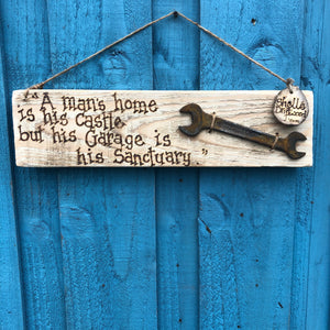 A SELECTION OF VINTAGE TOOL WALL HANGINGS| MADE ESPECIALLY FOR YOU