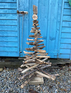 LARGE DRIFTWOOD TREE/ FAMILY TREE