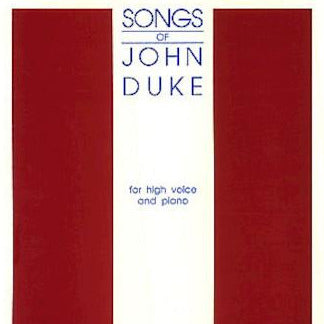 Duke, John - When I Was One and Twenty