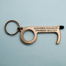 Load image into Gallery viewer, Stronger Together - B-Safe Keychain - Key Chain