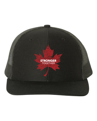 Stronger Together - Stronger Together Maple Leaf Snapback (RD/WH) - Headwear