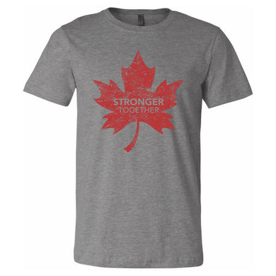 Stronger Together - Stronger Together Maple Leaf (RD) - T-Shirt