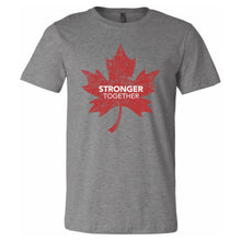 Load image into Gallery viewer, Stronger Together - Stronger Together Maple Leaf (RD/WH) - T-Shirt