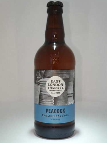 Peacock English Pale Ale (4.2% ABV)  Case 12 x 500ml Bottled Beers