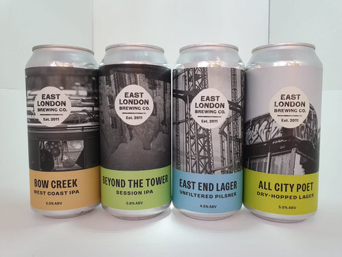 Mixed Case East London Brewing Cans 12 x 440ml