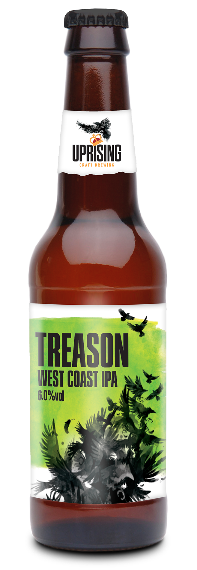 UPRISING Treason West Coast IPA 6% 12 x 330ml