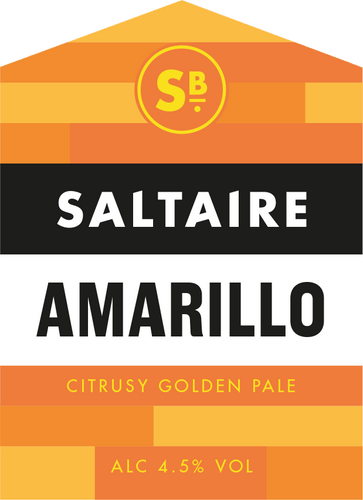 Amarillo. Citrusy Golden Pale, 4.5%, 1x5L minicask.