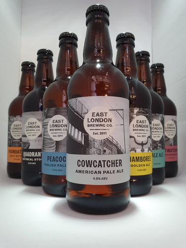 East London Brewing Company Mixed Case 12 x 500ml Bottled Beers