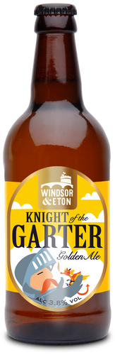 KNIGHT of the GARTER Golden Ale 3.8% 12 x 500ml