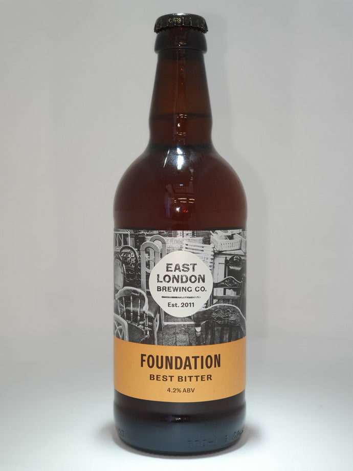 Foundation Best Bitter (4.2% ABV)  Case 12 x 500ml Bottled Beers
