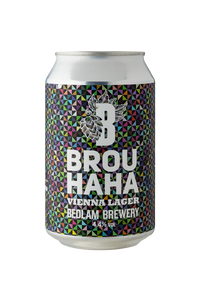 Bedlam BrouHaHa Vienna Lager Case 12x330ml Cans