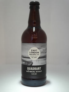 Quadrant Oatmeal Stout (5.5% ABV) Case 12 x 500ml Bottles