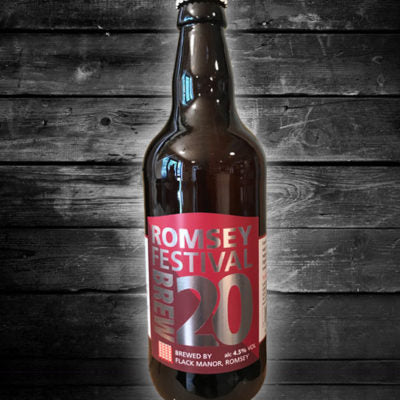 Romsey Festival Brew 20 4.5% alc Vol. 12 x 500ml Bottle