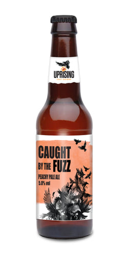 UPRISING Caught by the FUZZ Peachy Pale Ale 5% 12 x 330ml
