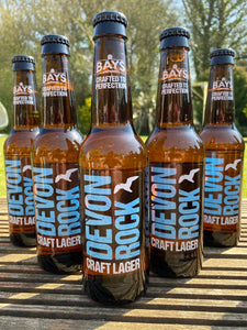 DEVON ROCK CRAFT LAGER 4.5% (12X330ML BOTTLES)