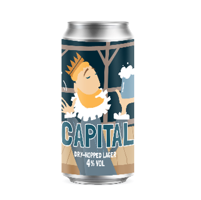 CAPITAL Dry-Hopped Lager 12 x 440ml cans