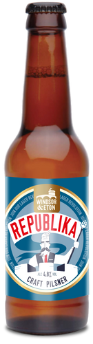 REPUBLIKA Pilsner 4.8% 12 x 330ml