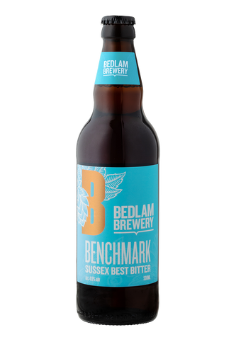 Bedlam Benchmark Case 12x500ml Bottles