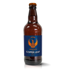 WIMBLEDON COPPER LEAF 4% 500ML X 12 BOTTLE CASE