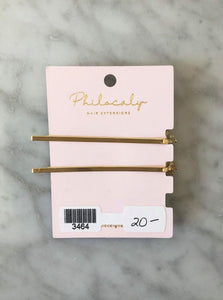 Rosy Posy Pins - Gold