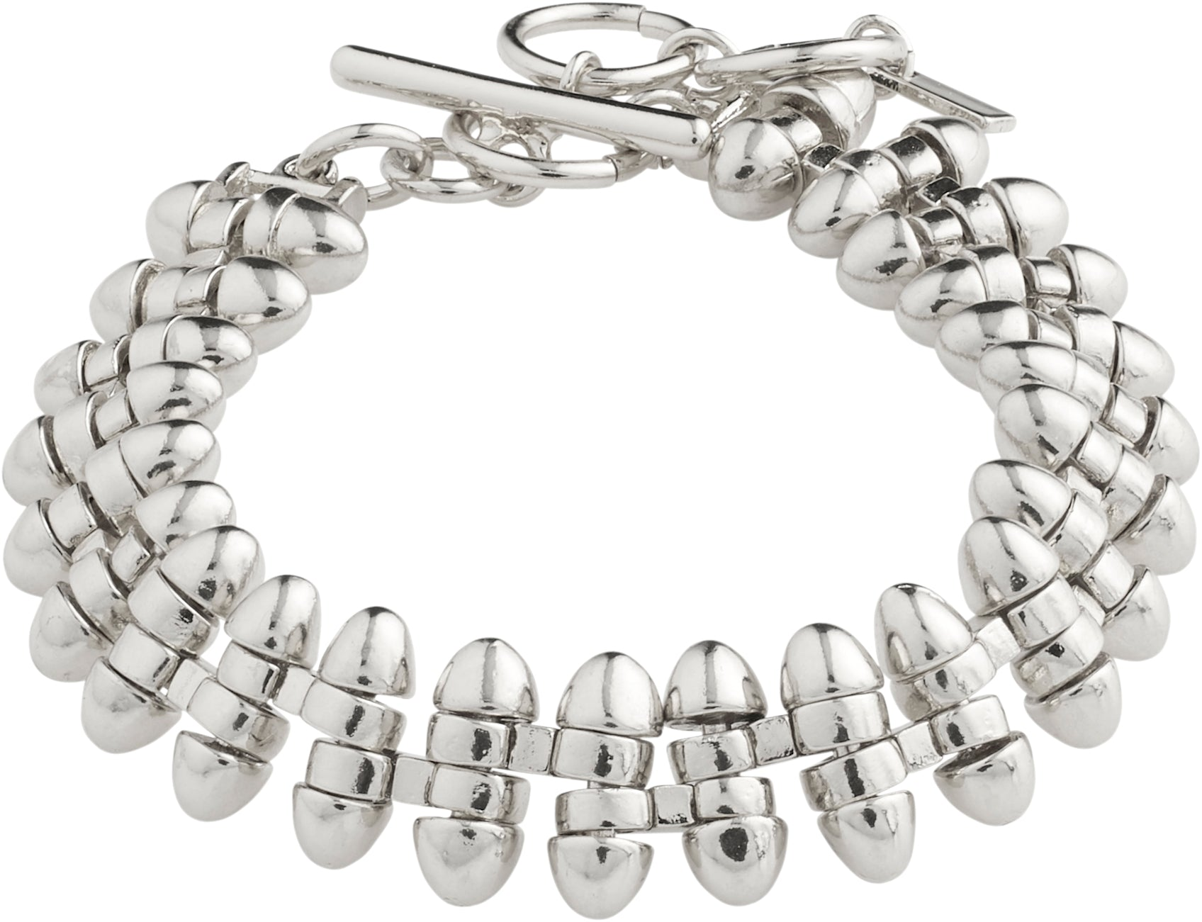 Affection Silver Plated Bracelet