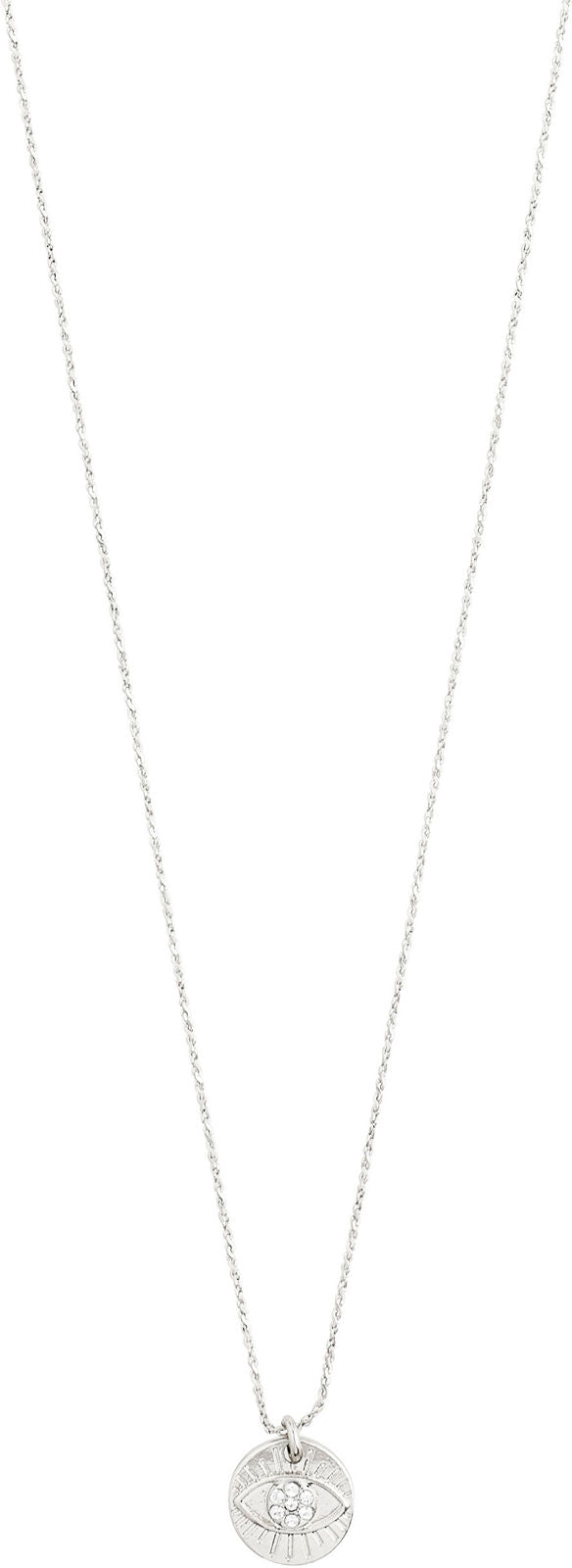 Cherished Silver Crystal Necklace