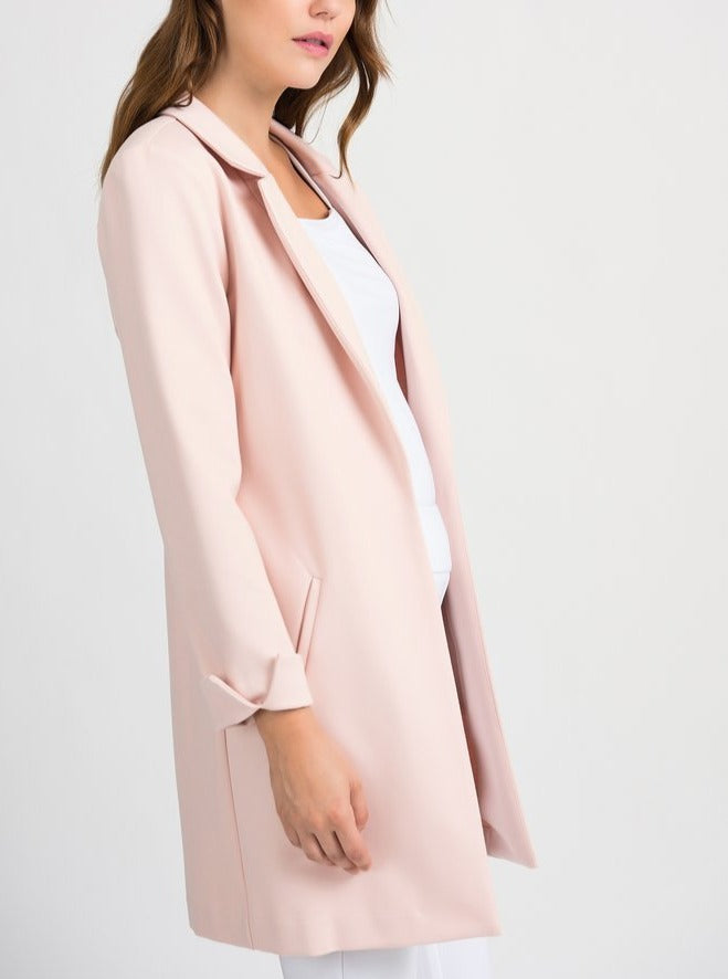 Pink Collared Jacket