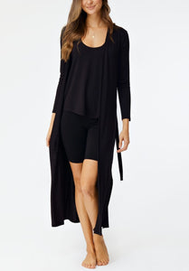 The Claudia Duster Black