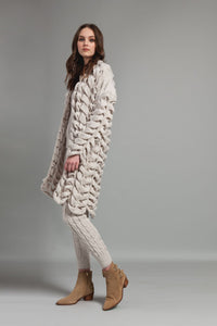 Twisted Knit Cardigan