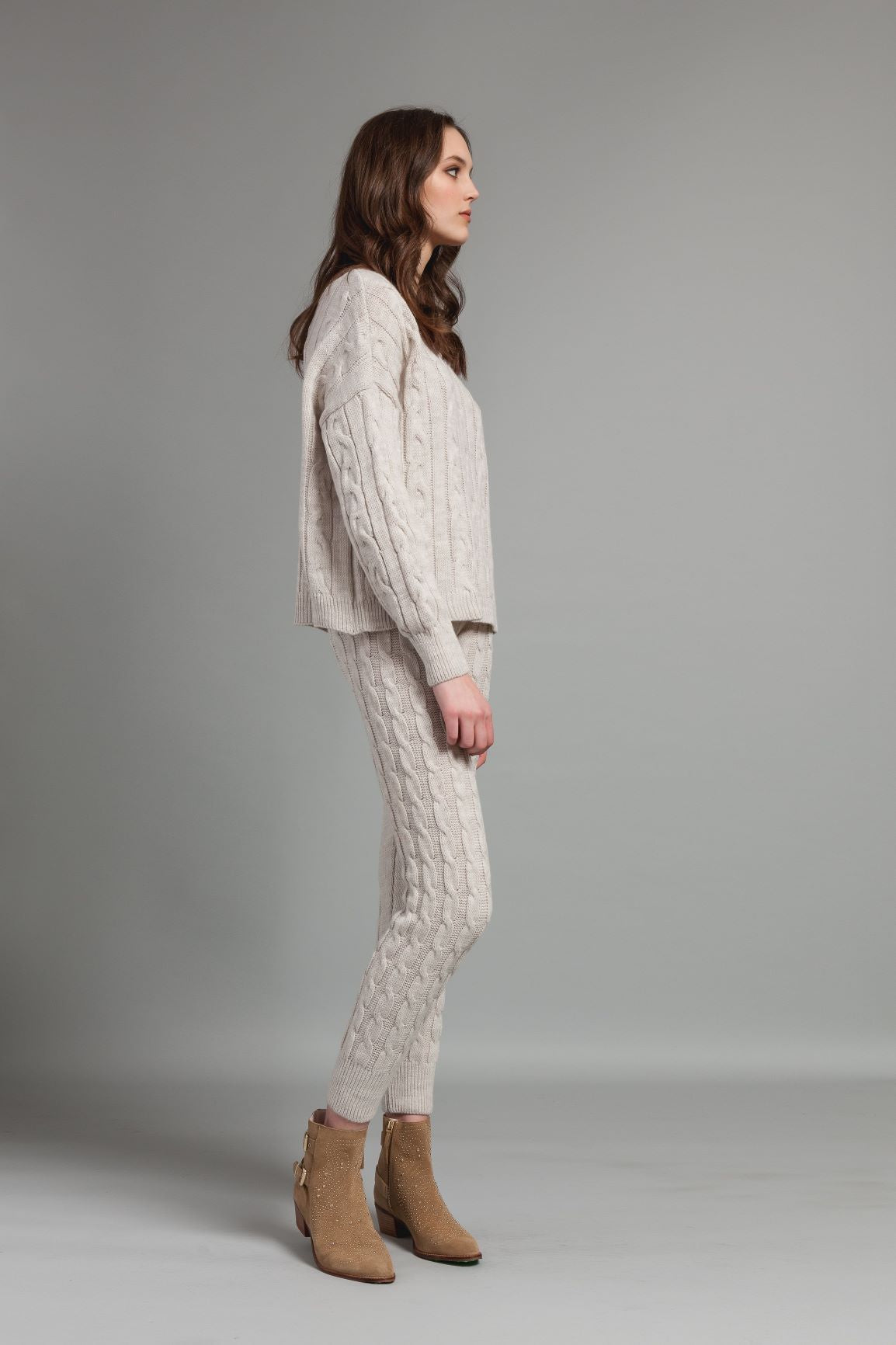 Cableknit Sweater - Oat