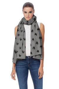 LINUS Skull Cashmere Wrap/Scarf