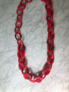 Resin Chainlink Necklace