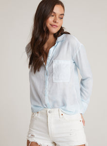 Boxy Button Down Sea Spray