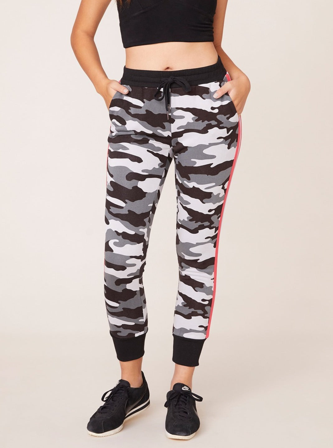 Stealth Mode Camo Printed Jogger