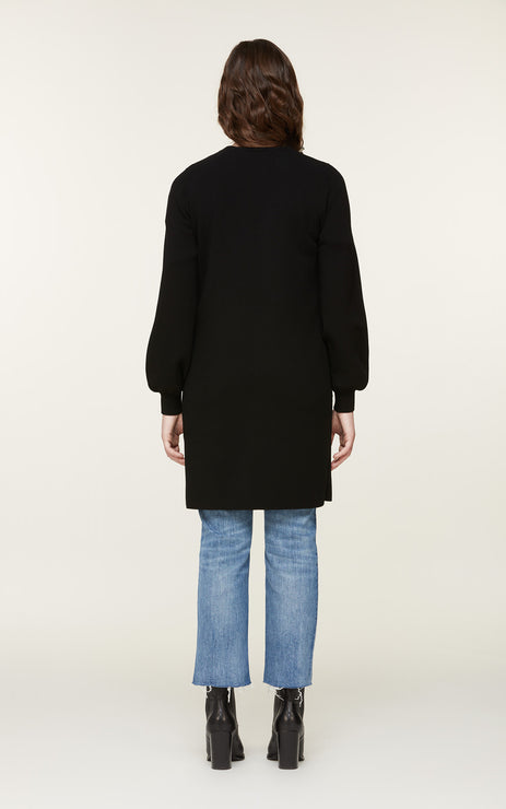 CARINE Long Knit Coatigan