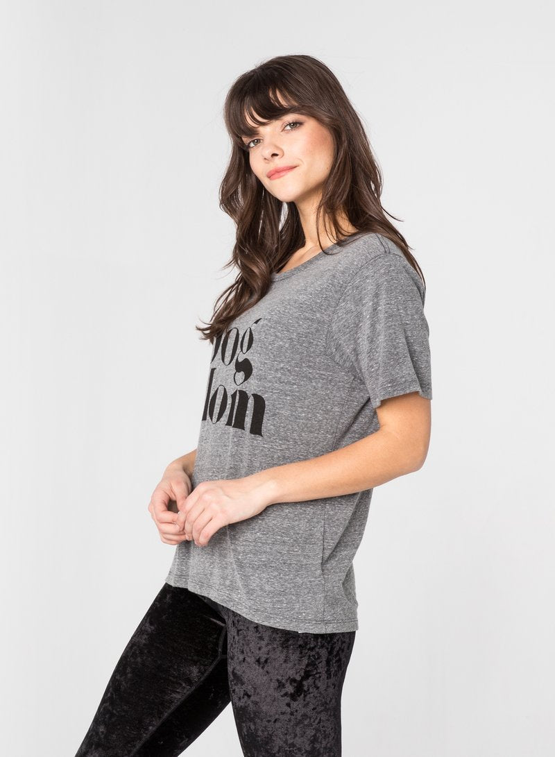 Dog Mom Wide T-Shirt