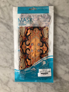 $50 Holiday Gift Card with Complimentary Pleated Print Mask